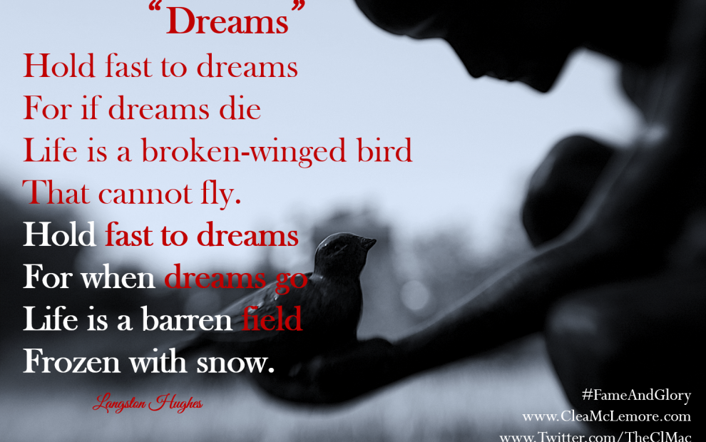 "LangstonHughes, ""Dreams"""