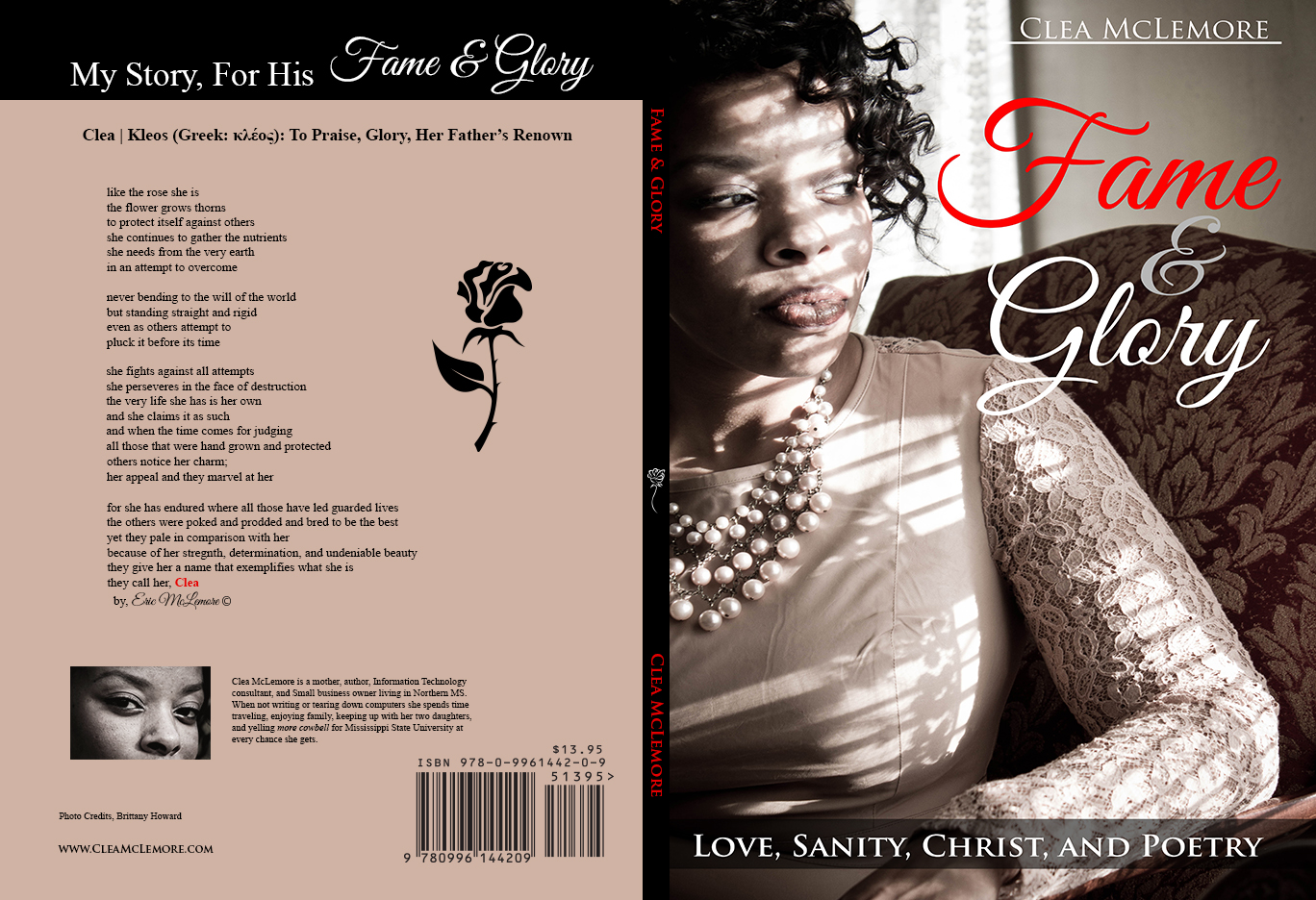 Fame & Glory, Front & Back cover