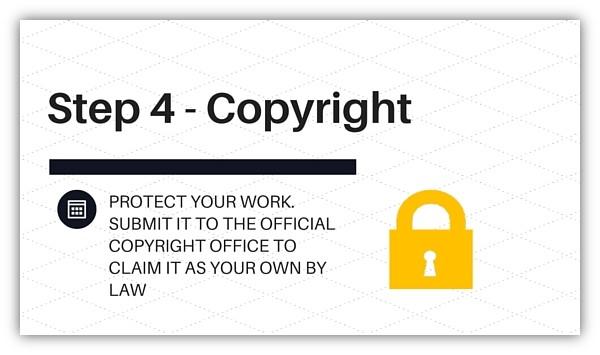 Step 4 - Copyright
