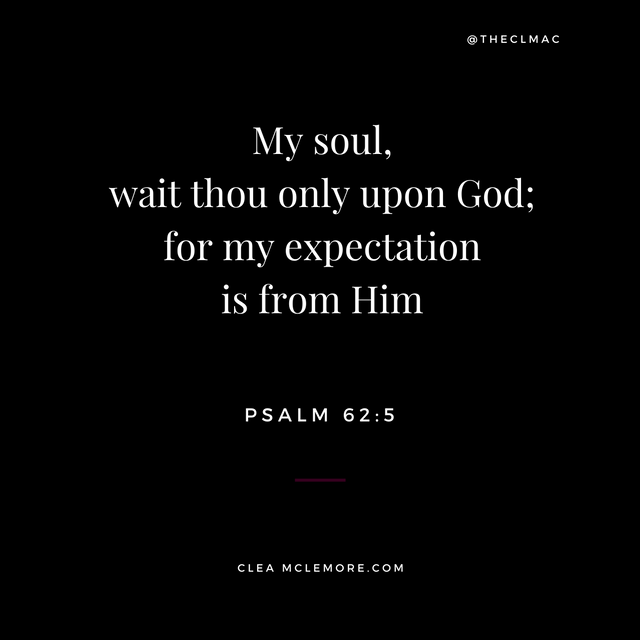 My Soul, Wait Thou Only, Psalm 62