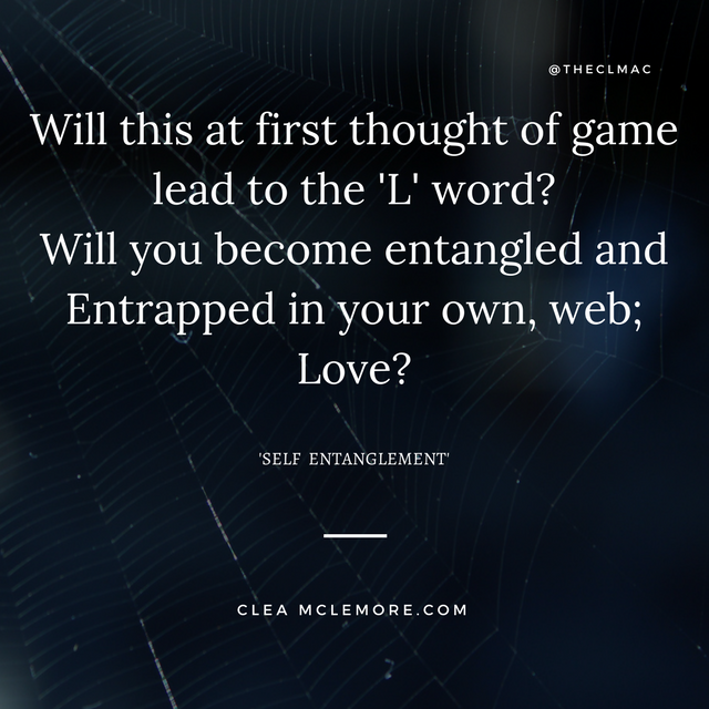 Self Entanglement, by Clea McLemore