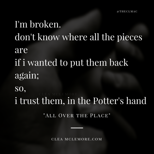 All Over the Place, by Clea McLemore