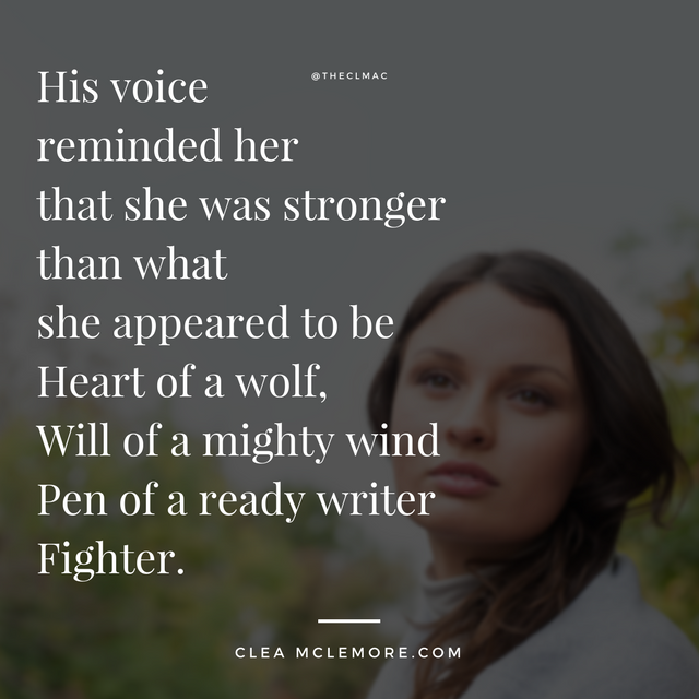 """Fighter"" by Clea McLemore"