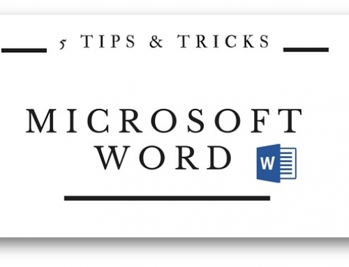 Microsoft Word | 5 Tips & Tricks