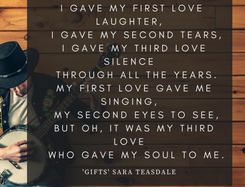 """Gifts"" by Sara Teasdale – Best Love Poetry"