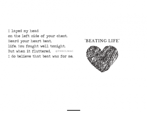 """Beating Life"" – Poem of the Day"