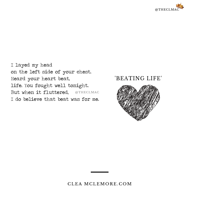 Beating Life, by Clea McLemore