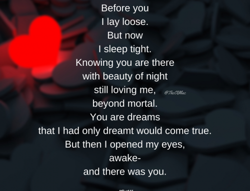 B4U – Before You, A Poem