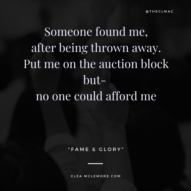 Auction, by Clea McLemore